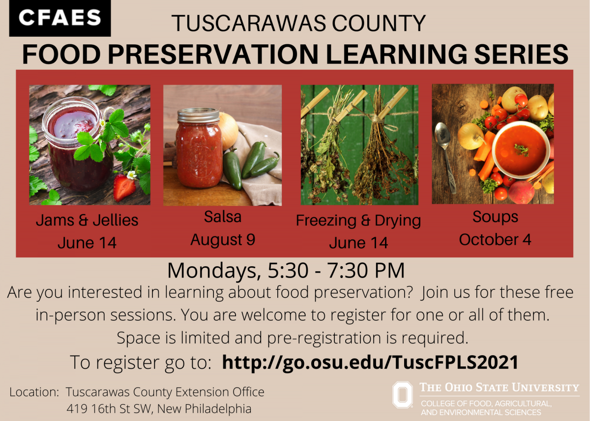 Food Preservation Learning Series