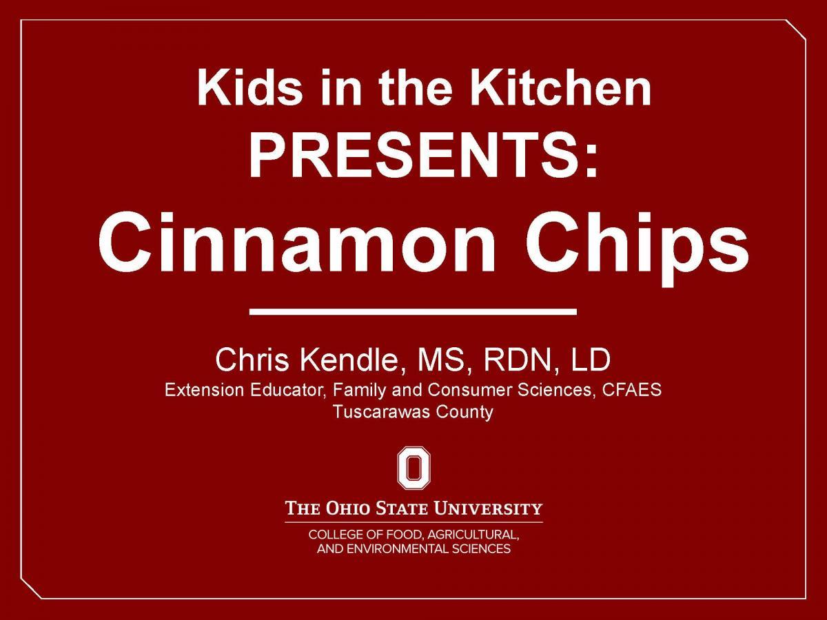 Cinnamon Chips Video