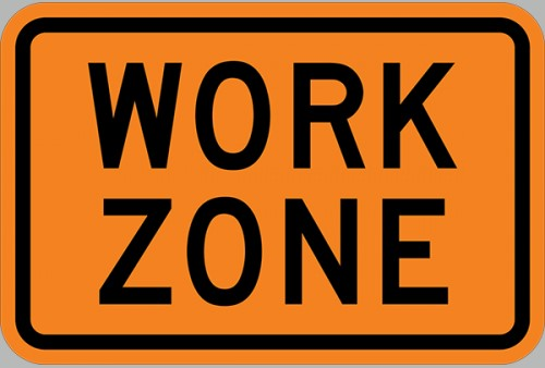 work zone image