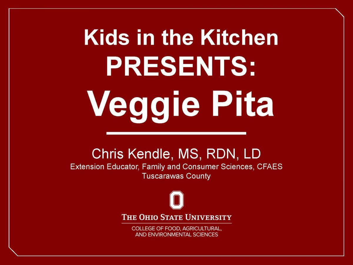 Veggie Pita Video